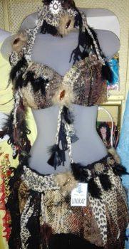 Modell Afro-Unikat